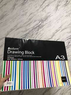 A3 Drawing Block