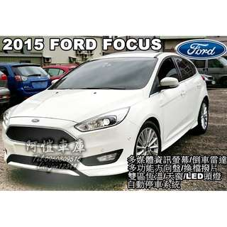 2015 FORD FOCUS 1.5T