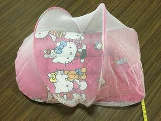 Baby Hello Kitty mattress with net