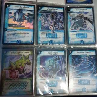 Duel Masters Water Nature foils