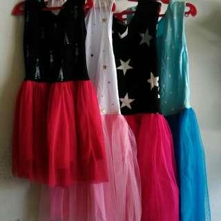 Bundle Tutti Dress 4pcs.