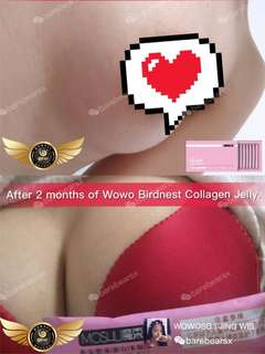 breast enhancement 💞 Cubilose Collagen Jelly