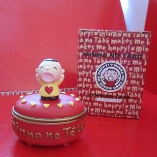 Minna no tabo 大口仔 陶瓷珠寶盒 2002年