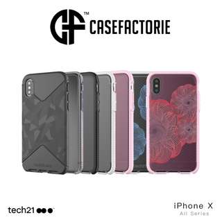 Tech21 iPhone X Evo Tactical Check Pure Clear