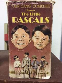 The Little Rascals VHS video tapes - PRICE REDUCED!