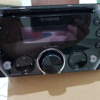 Toyota original  audio player