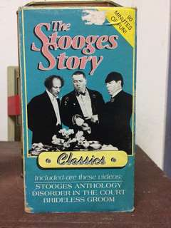 The 3 Stooges VHS Video tapes - PRICE REDUCED!!!
