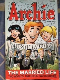 ARCHIE THE MARRIED LIFE BOOK THREE