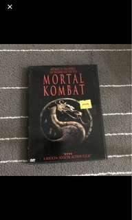 Mortal Kombat Movie DVD