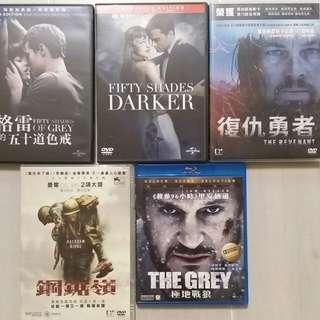 正版2手電影DVD, Blu-ray