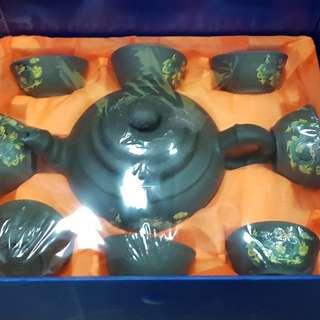 南山九老品茶壶 Purple Clay Teapot