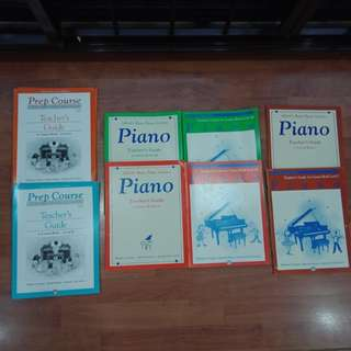 Alfred basic piano library Teacher guide