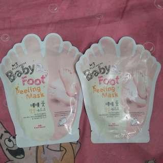 Baby foot masker kaki