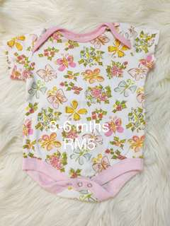 Baby Girl Rompers 3-6m