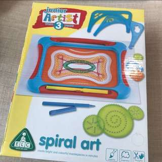 Elc drawing board spiral art