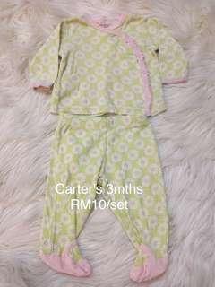 Baby girl set 3m