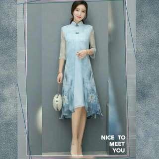 🚚 改良式旗袍洋裝旗袍