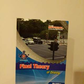 Final theory of driving book