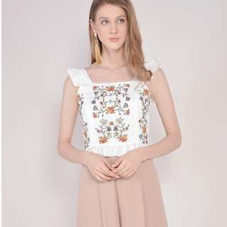(PO) Summer Embroidered Top