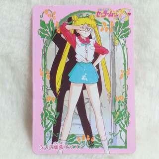 美少女戰士 SailorMoon 膠咭