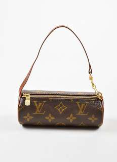 💯 Authentic Louis Vuitton Canvas Monogran Mini Papillon Pochette