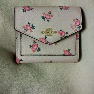 Coach small wallet for less
