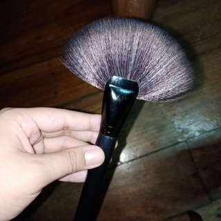 Large fan brush