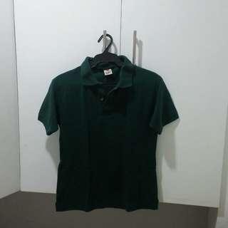 Dark Green Polo Shirt