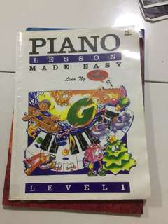 Piano book made easy level 1