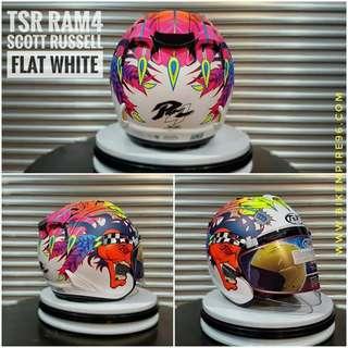 openface TSR helmet (copy arai helmet design)