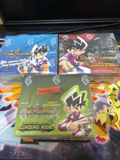 SEALED German Vintage Duel Masters boxes Authenticate