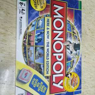 Monopoly 大富翁 Here &Now: The World Edition