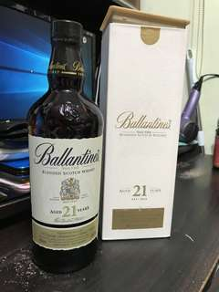 Whisky - Ballantines 21 Years Very Old Blended Scotch Whisky