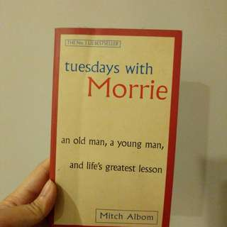 Tuesdays with Morrie by Mitch Albm