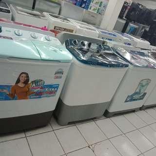 Mesin cuci sanken murah bisa kredit tanpa DP
