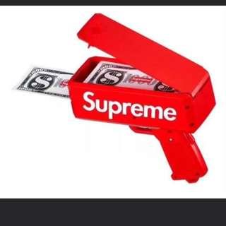Supreme cash gun