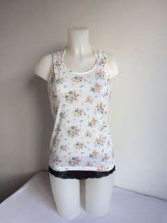 Floral Summer Tank Top