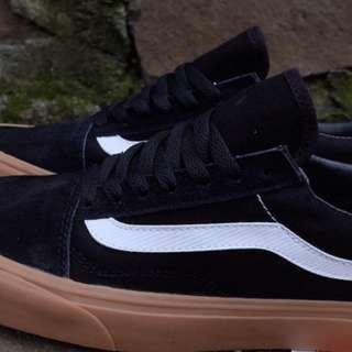 Vans oldskool mono black/gum