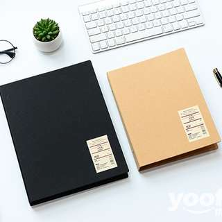 Simple Basic File Binder A5 20 Ring