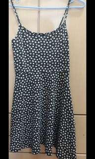 H&M mini patterned dress