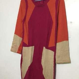 Korean spandex dress or pull over shirt