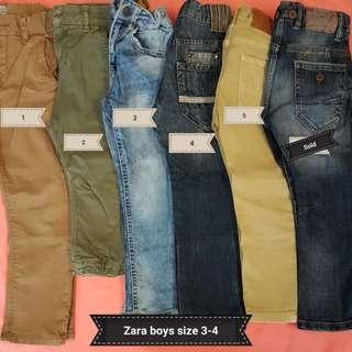 Pants size 3-4