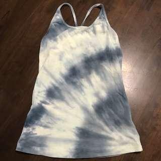 Tie Dye Exercise Top