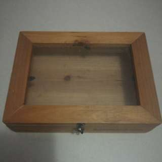 New Wooden Display Box