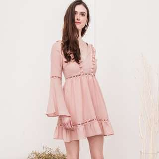 (PO) Pippa Bell Sleeve Dress
