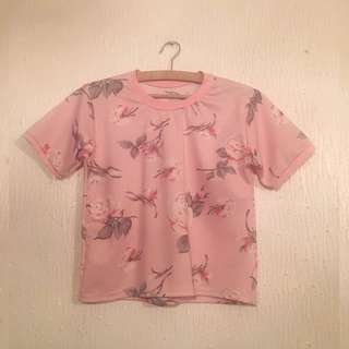 *REPRICED* UNBRANDED Floral Blouse