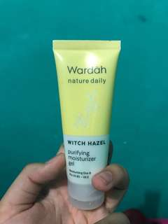 wardah witch hazel (moisturizer)