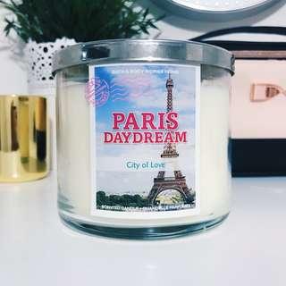 Bath & Body Works Paris Daydream 3-Wick Candle
