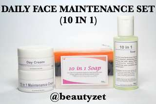 Daily Face Maintenance Set (10 in 1)