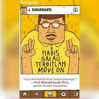 Ebook Habis Galau Terbitlah Move On